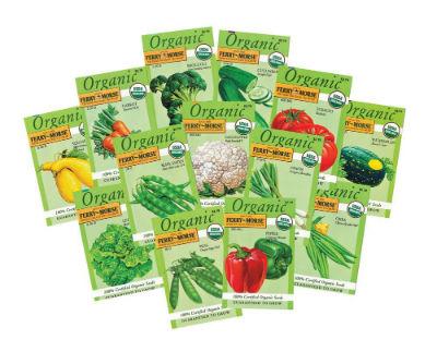 Superb Ferry Morse Large Organic Vegetable Garden