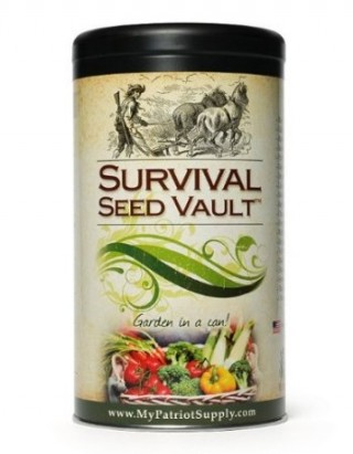 Survival Seed Vault Heirloom Emergency Survival Seeds