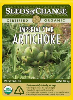 seeds of change certified organic artichoke seeds